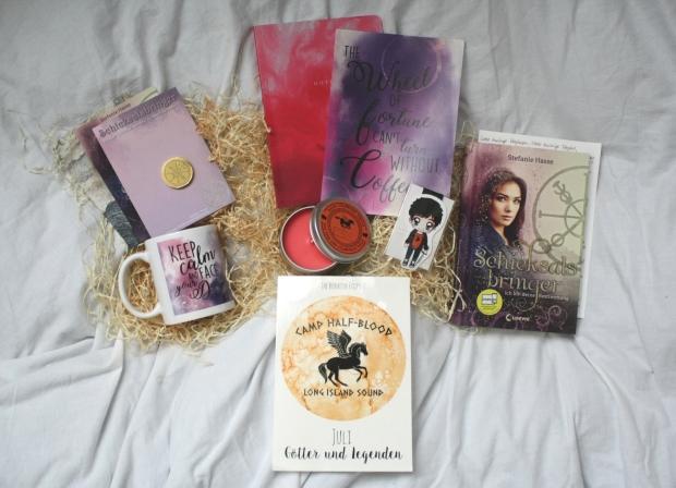 ausgepackt-bookish prophet box juli 17 - 1